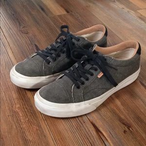 Gray Vans shoes